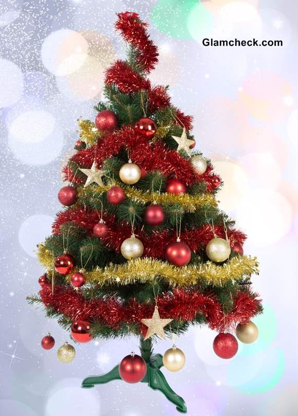 christmas tree decoration ideas for small trees - Small Decorated Christmas Trees