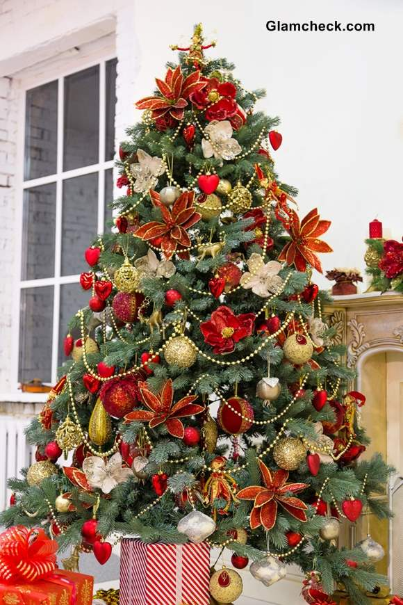 Martha Stewart Decorated Christmas Trees