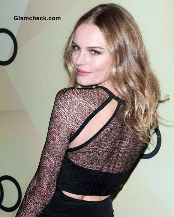 Cutout Necklines Kate Bosworth