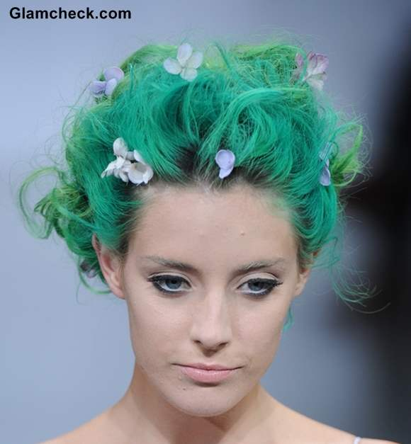 Hair Style and Accessory Trend SS 2014 – The Zac Posen Show