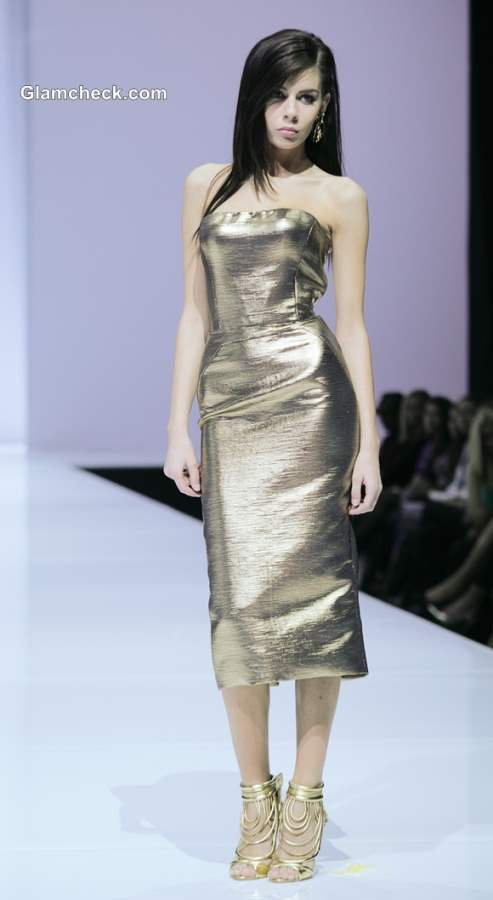 Holiday Style Inspiration – Dipped in Gold for Christmas