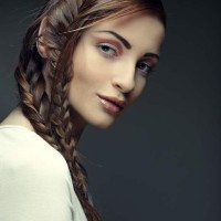 How to Make Side-swept Double Fishtail Braid