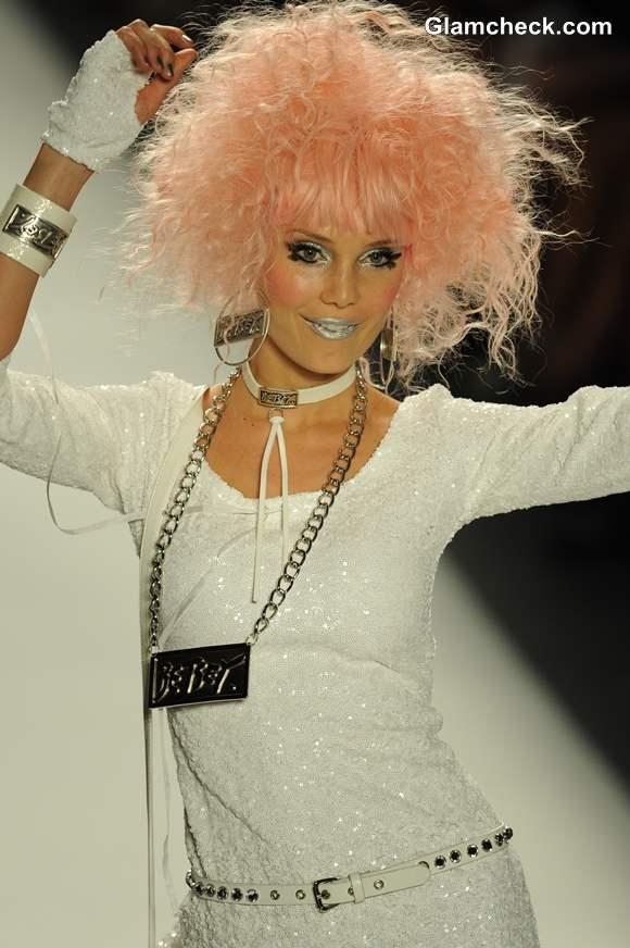 Makeup Trend S-S 2014 - Betsey Johnson Sport The Metallic Sheen
