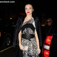 Miranda Kerr in Just Cavalli Maxi Dress
