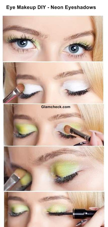 Neon Eyeshadows Eye Makeup