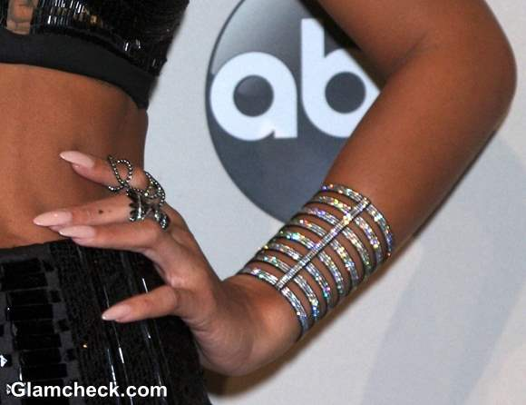Rihanna Jewelry at AMA 2013