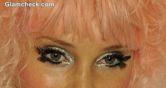 Silver Metallic Eyeshadow Makeup Trend S-S 2014