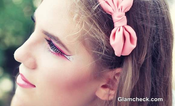 Barbie Inspired Pink Eye Makeup