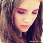 Eye Makeup How To - Barbie Pink Eye Makeup