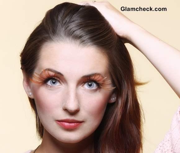 Feather Eyelashes Glamcheck Beauty Trends