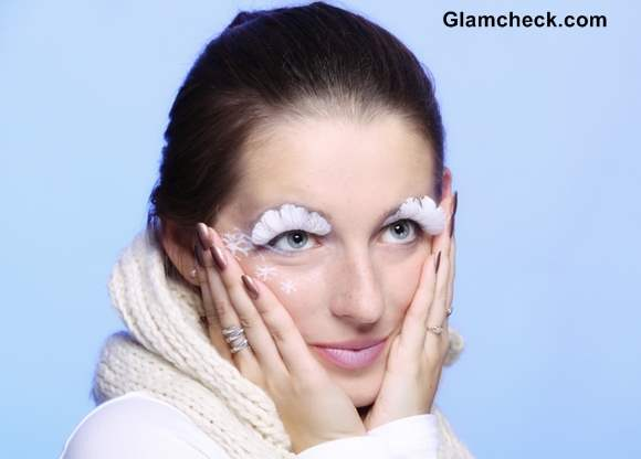 Feather Eyelashes Trends Fall Winter