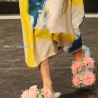 Floral footwear by Marktina Banozic