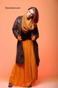 Maxi Skirt – Winter Boho Gypsy Look
