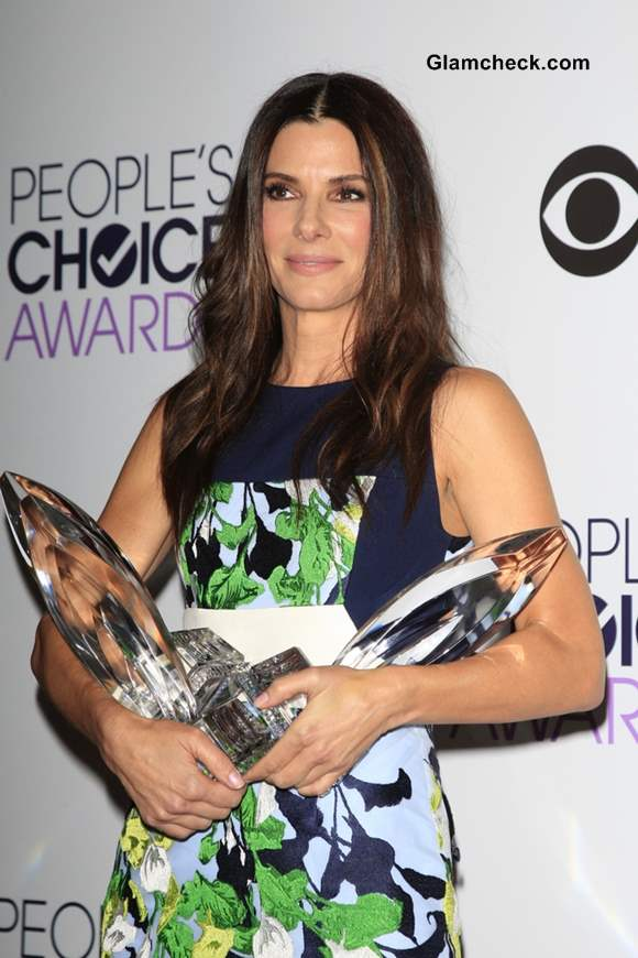 Sandra Bullock At Peoples Choice Awards 2014