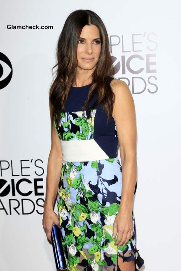 Sandra Bullock  At the Peoples Choice Awards 2014