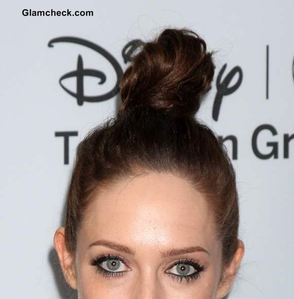 Sophisticated Top Knot Hairstyle