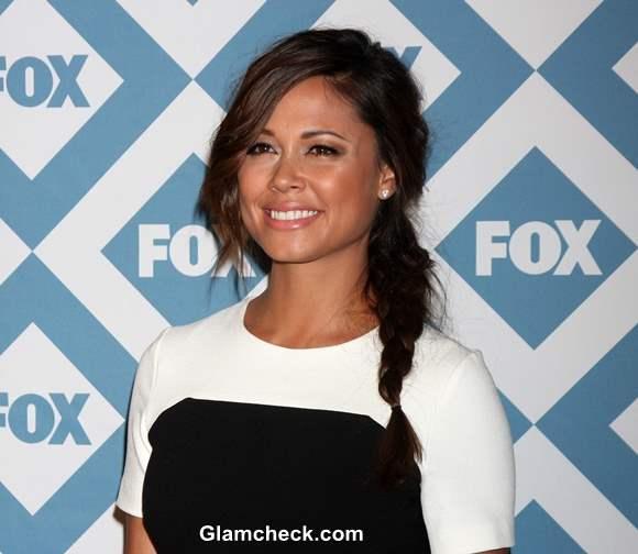 Vanessa Lachey Sports a Messy Side Braid At the FOX TCA ...