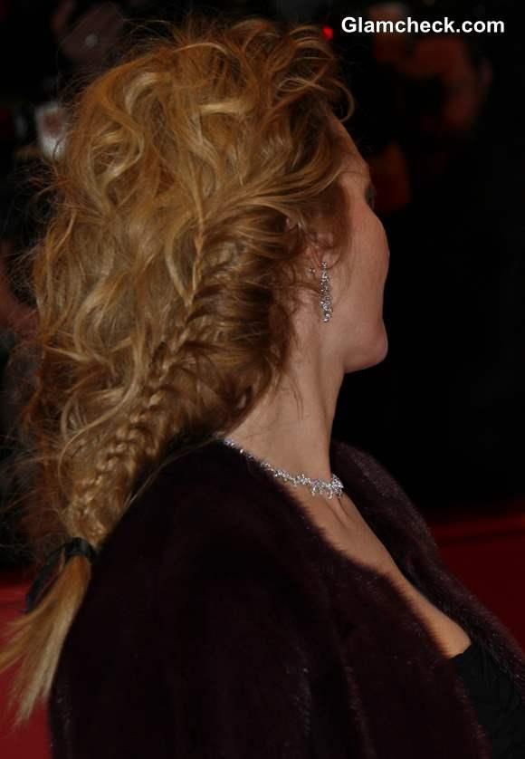 Braided Grecian Hairdo