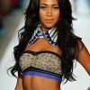 Edgy Collars with swimsuits Maaji show during Mercedes-Benz Fashion Week Swim 2014