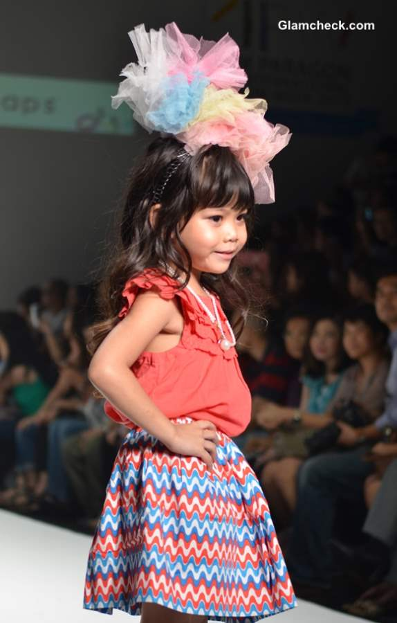 Ginger Snaps New Collection 2013 at Kids Internation Fashion Week 2013
