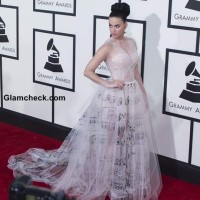 Katy Perry in Valentino at 59th Grammy Awards