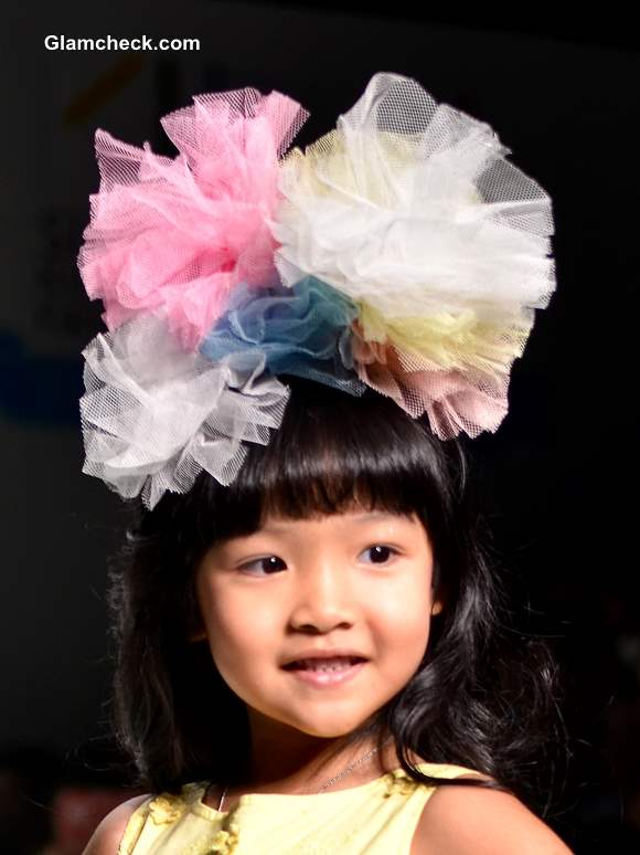 Little Girls Hair Accessory – Fabric Flowers and Hair Bows