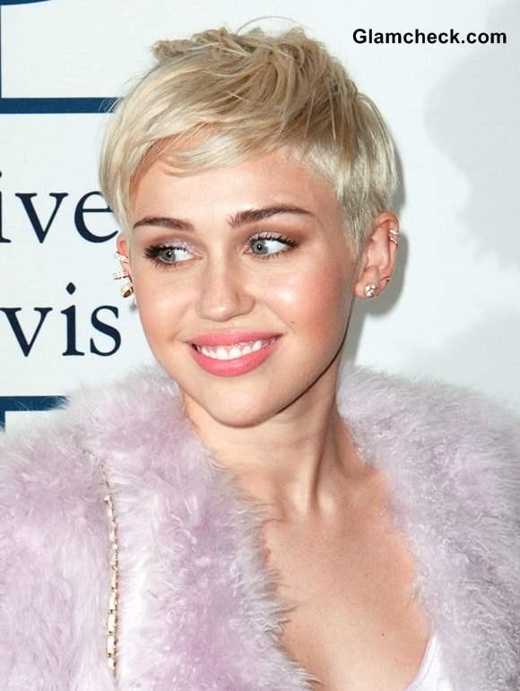 Miley Cyrus 2014 Hair Color