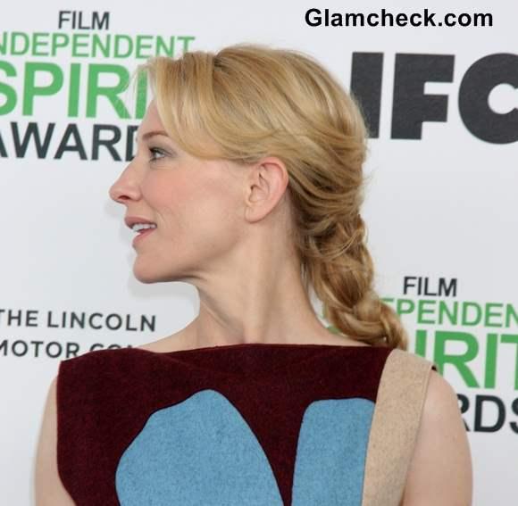 Cate Blanchett 2014 Braids Hairstyle