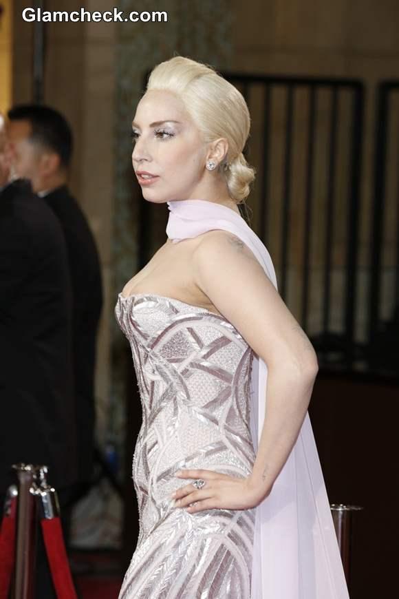 Lady Gaga at Oscars 2014