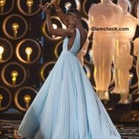 Lupita Nyong in Prada Gown at Oscars 2014
