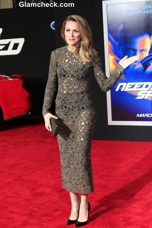 Shantel Vansanten S Peek A Boo Style At Need For Speed