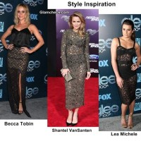 Style Inspiration - Celebs in See-through Lace Dresses