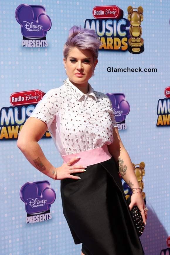 Kelly Osbourne 2014 Pixie Mohawk at Radio Disney Music Awards