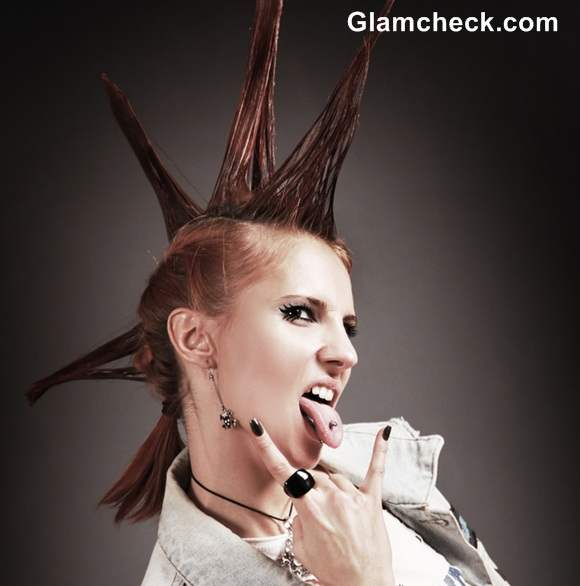 Punk Hair Colors and styles