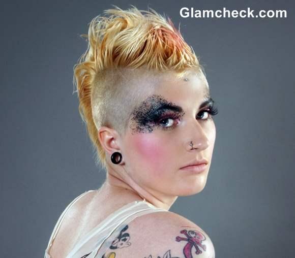 Punk Hairstyle Spikes Hair