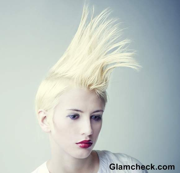 Punk Hairstyle Spikes