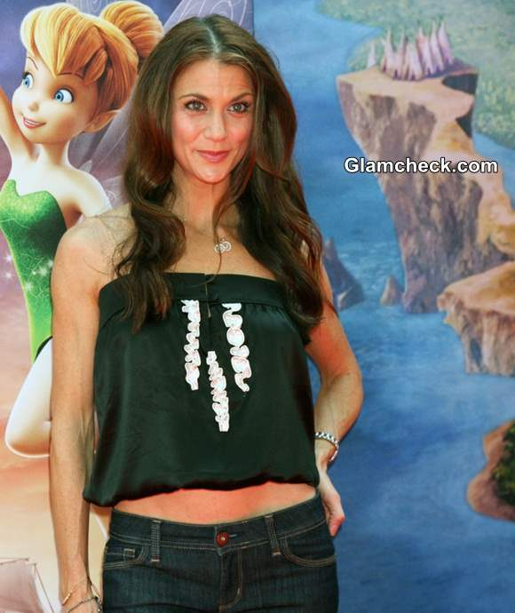 Samantha Harris in Cropped Top at Pirate Fairy Premiere
