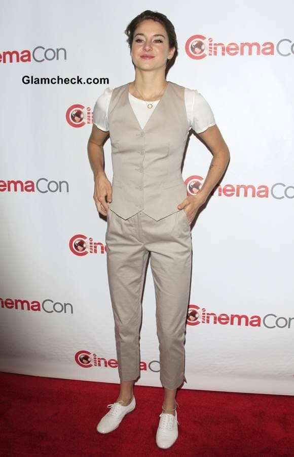Shailene Woodley 2014 Androgynous Look