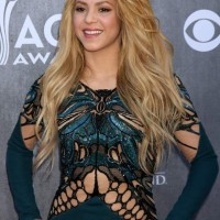 Shakira in Zuhair Murad at 2014 Academy of Country Music Awards