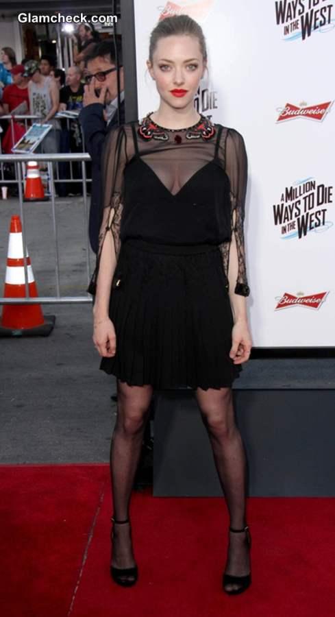 Amanda Seyfried At Million Ways to Die in the West Premiere