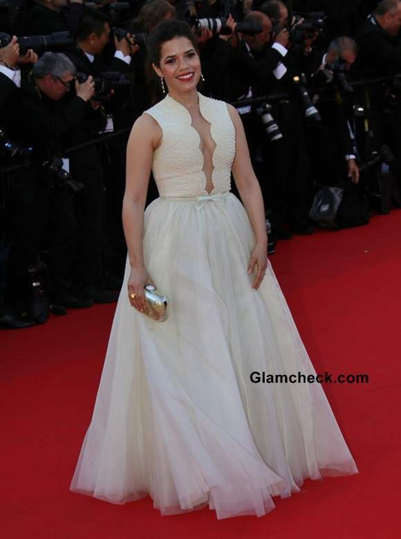 America Ferrera at Cannes 2014