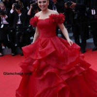 Elena Lenina at Cannes 2014