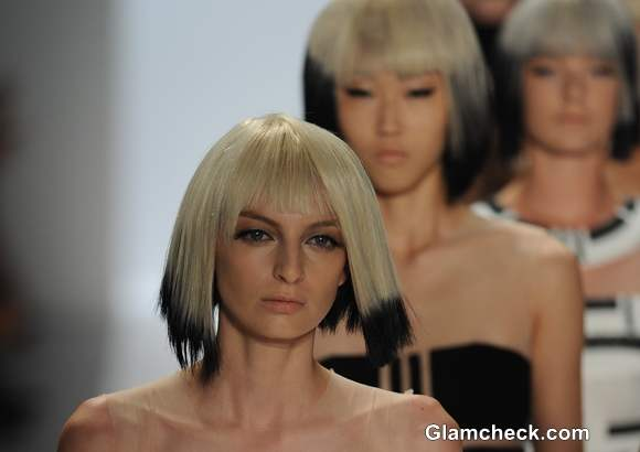 Hair Color Trend S-S 2014  Carmen Marc Valvo