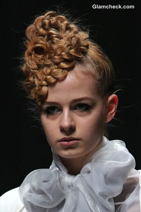 Hairstyle Trend S-S 2014 Braided Bun