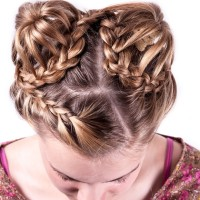 Intricate Braided Buns