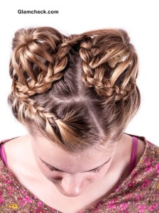 Artistic Hairstyles with Braids