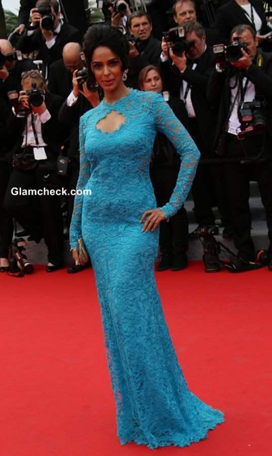 Mallika Sherawat at Cannes 2014