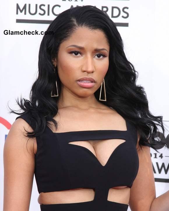 Nicki Minaj 2014 in Alexander McQueen at Billboard Music Awards