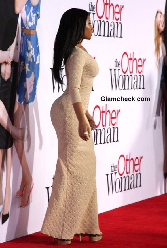 Nicki Minaj 2014 in Alexander McQueen at The Other Woman Premiere