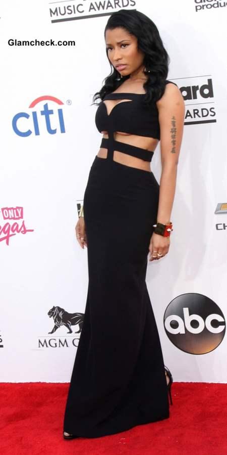 Nicki Minaj in Alexander McQueen at 2014 Billboard Music Awards